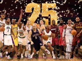 nba 25 migliori giocatori